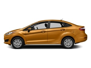 Electric Spice Metallic 2016 Ford Fiesta Pictures Fiesta Sedan 4D SE I4 photos side view