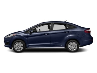 Kona Blue Metallic 2016 Ford Fiesta Pictures Fiesta Sedan 4D SE I4 photos side view