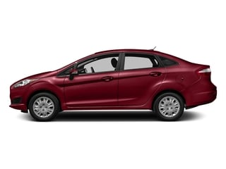 Ruby Red Metallic Tinted Clearcoat 2016 Ford Fiesta Pictures Fiesta Sedan 4D SE I4 photos side view