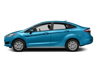 Blue Candy Metallic Tinted Clearcoat 2016 Ford Fiesta Pictures Fiesta Sedan 4D SE I4 photos side view