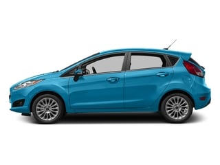 Blue Candy Metallic Tinted Clearcoat 2016 Ford Fiesta Pictures Fiesta Hatchback 5D Titanium I4 photos side view
