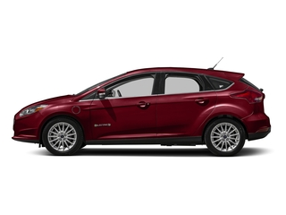 Ruby Red Metallic Tinted Clearcoat 2016 Ford Focus Electric Pictures Focus Electric Hatchback 5D Electric photos side view