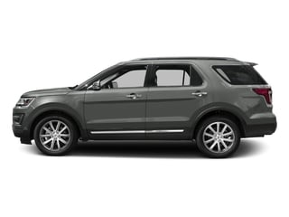 Magnetic Metallic 2016 Ford Explorer Pictures Explorer Utility 4D Limited 2WD V6 photos side view