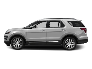 Ingot Silver Metallic 2016 Ford Explorer Pictures Explorer Utility 4D Limited 2WD V6 photos side view