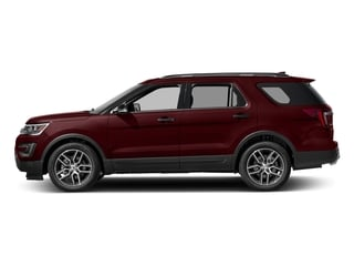 Bronze Fire Metallic Tinted Clearcoat 2016 Ford Explorer Pictures Explorer Utility 4D Sport 4WD V6 photos side view