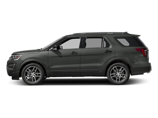 Magnetic Metallic 2016 Ford Explorer Pictures Explorer Utility 4D Sport 4WD V6 photos side view