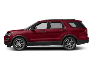 Ruby Red Metallic Tinted Clearcoat 2016 Ford Explorer Pictures Explorer Utility 4D Sport 4WD V6 photos side view