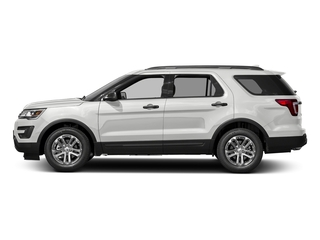 Oxford White 2016 Ford Explorer Pictures Explorer Utility 4D EcoBoost 2WD I4 photos side view