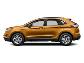 Electric Spice Metallic 2016 Ford Edge Pictures Edge Utility 4D SEL 2WD V6 photos side view
