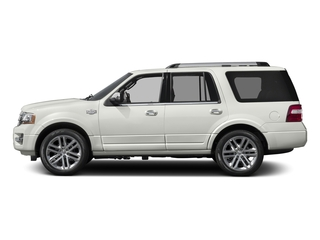 White Platinum Metallic Tri-Coat 2016 Ford Expedition Pictures Expedition Utility 4D King Ranch 4WD V6 Turbo photos side view