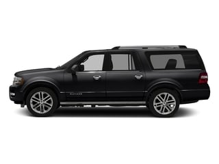 Shadow Black 2016 Ford Expedition EL Pictures Expedition EL Utility 4D Platinum 4WD V6 Turbo photos side view