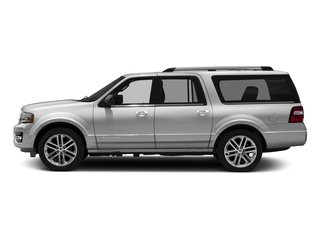 Ingot Silver Metallic 2016 Ford Expedition EL Pictures Expedition EL Utility 4D Platinum 4WD V6 Turbo photos side view
