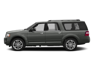 Magnetic Metallic 2016 Ford Expedition EL Pictures Expedition EL Utility 4D Limited 4WD V6 Turbo photos side view