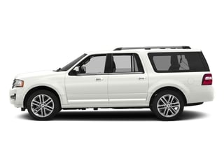 White Platinum Metallic Tri-Coat 2016 Ford Expedition EL Pictures Expedition EL Utility 4D Limited 4WD V6 Turbo photos side view