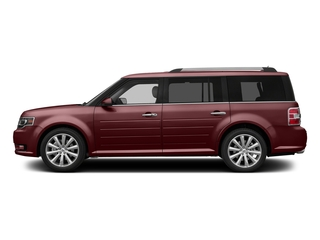 Bronze Fire Metallic Tinted Clearcoat 2016 Ford Flex Pictures Flex Wagon 4D Limited AWD photos side view