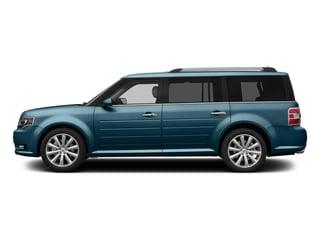 Too Good To Be Blue Metallic 2016 Ford Flex Pictures Flex Wagon 4D Limited AWD photos side view