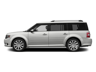 Oxford White 2016 Ford Flex Pictures Flex Wagon 4D Limited AWD photos side view