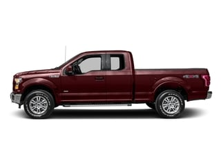 Bronze Fire Metallic 2016 Ford F-150 Pictures F-150 Supercab Lariat 2WD photos side view