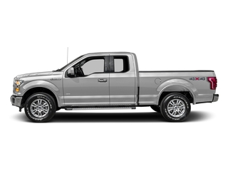 Ingot Silver Metallic 2016 Ford F-150 Pictures F-150 Supercab Lariat 2WD photos side view