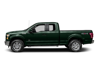Green Gem Metallic 2016 Ford F-150 Pictures F-150 Supercab Lariat 2WD photos side view