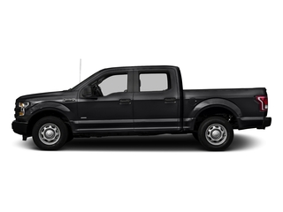 Shadow Black 2016 Ford F-150 Pictures F-150 Crew Cab XL 2WD photos side view