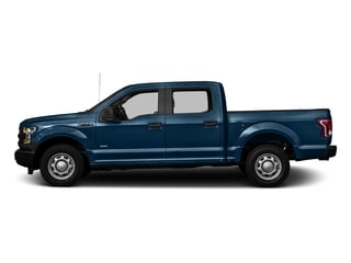 Blue Jeans Metallic 2016 Ford F-150 Pictures F-150 Crew Cab XL 2WD photos side view