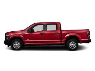 Race Red 2016 Ford F-150 Pictures F-150 Crew Cab XL 2WD photos side view
