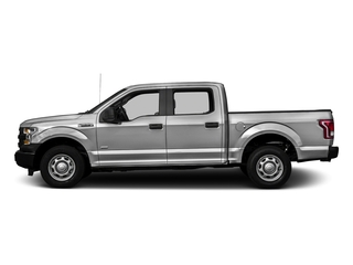 Ingot Silver Metallic 2016 Ford F-150 Pictures F-150 Crew Cab XL 2WD photos side view