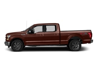 Caribou Metallic 2016 Ford F-150 Pictures F-150 Crew Cab Lariat 4WD photos side view