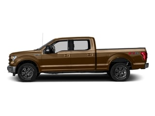 Bronze Fire Metallic 2016 Ford F-150 Pictures F-150 Crew Cab Lariat 4WD photos side view