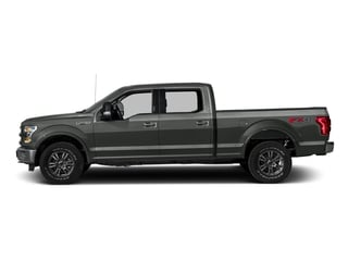 Magnetic Metallic 2016 Ford F-150 Pictures F-150 Crew Cab Lariat 4WD photos side view
