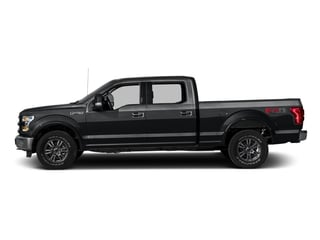 Lithium Gray 2016 Ford F-150 Pictures F-150 Crew Cab Lariat 4WD photos side view