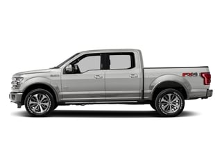 White Platinum Metallic Tri-Coat 2016 Ford F-150 Pictures F-150 Crew Cab King Ranch 4WD photos side view