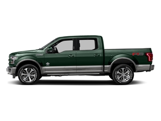 Green Gem Metallic 2016 Ford F-150 Pictures F-150 Crew Cab King Ranch 4WD photos side view