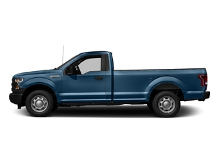 Blue Jeans Metallic 2016 Ford F-150 Pictures F-150 Regular Cab XL 4WD photos side view