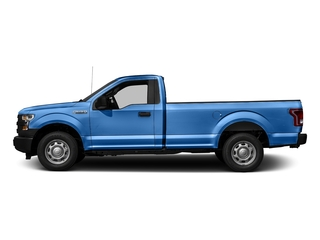 Blue Flame Metallic 2016 Ford F-150 Pictures F-150 Regular Cab XL 2WD photos side view