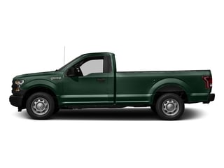 Green Gem Metallic 2016 Ford F-150 Pictures F-150 Regular Cab XL 4WD photos side view