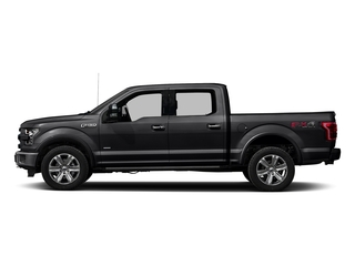 Shadow Black 2016 Ford F-150 Pictures F-150 Crew Cab Platinum 2WD photos side view