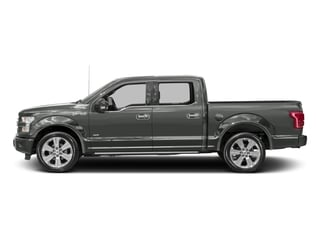 Magnetic Metallic 2016 Ford F-150 Pictures F-150 Crew Cab Limited EcoBoost 2WD photos side view