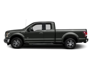 Magnetic Metallic 2016 Ford F-150 Pictures F-150 Supercab XLT 2WD photos side view