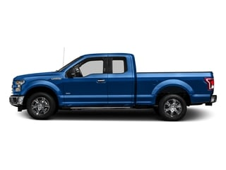 Blue Flame Metallic 2016 Ford F-150 Pictures F-150 Supercab XLT 2WD photos side view