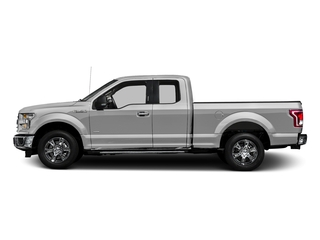 Ingot Silver Metallic 2016 Ford F-150 Pictures F-150 Supercab XLT 2WD photos side view