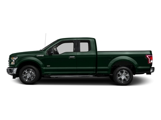 Green Gem Metallic 2016 Ford F-150 Pictures F-150 Supercab XLT 2WD photos side view