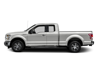 Oxford White 2016 Ford F-150 Pictures F-150 Supercab XLT 2WD photos side view