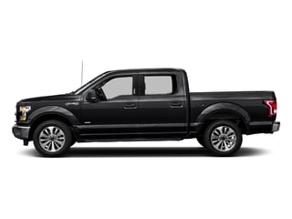 Shadow Black 2016 Ford F-150 Pictures F-150 Crew Cab XLT 2WD photos side view