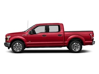 Race Red 2016 Ford F-150 Pictures F-150 Crew Cab XLT 2WD photos side view