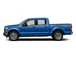 Blue Flame Metallic 2016 Ford F-150 Pictures F-150 Crew Cab XLT 2WD photos side view