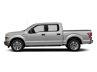 Ingot Silver Metallic 2016 Ford F-150 Pictures F-150 Crew Cab XLT 2WD photos side view