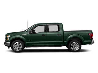 Green Gem Metallic 2016 Ford F-150 Pictures F-150 Crew Cab XLT 2WD photos side view