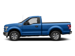 Blue Flame Metallic 2016 Ford F-150 Pictures F-150 Regular Cab XLT 2WD photos side view